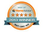 Airmaxx HomeAdvisor 2013 Winner