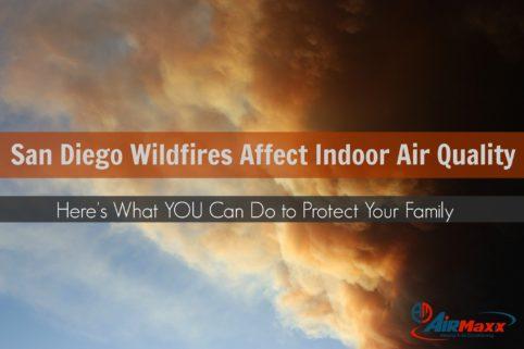 San Diego Wildfires & Air Quality